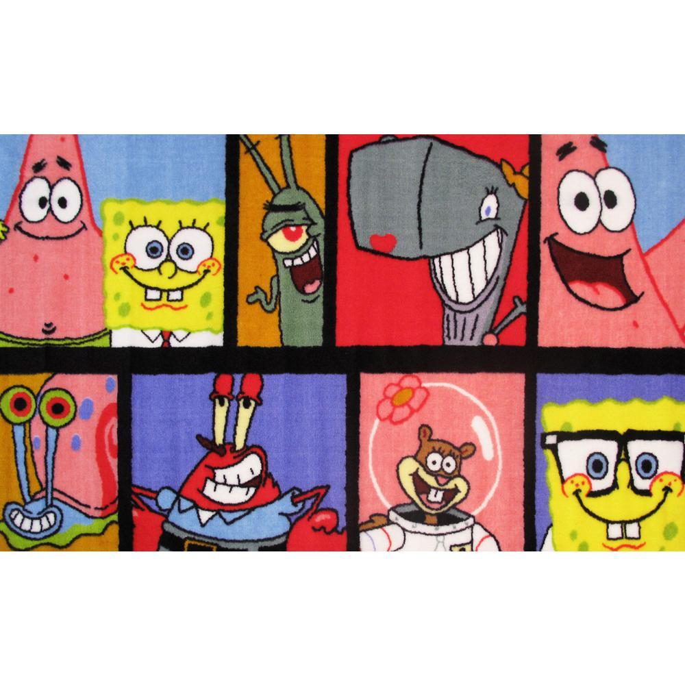Fun Rugs Nickelodeon SpongeBob Comic