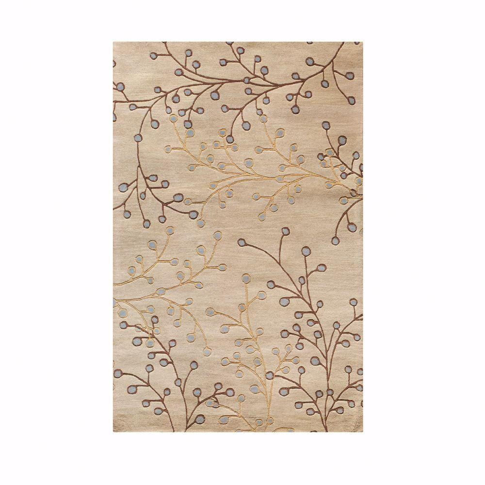 Home Decorators Collection Springtime Beige 2 ft. 6 in. x 4 ft. 6 in. Accent Rug