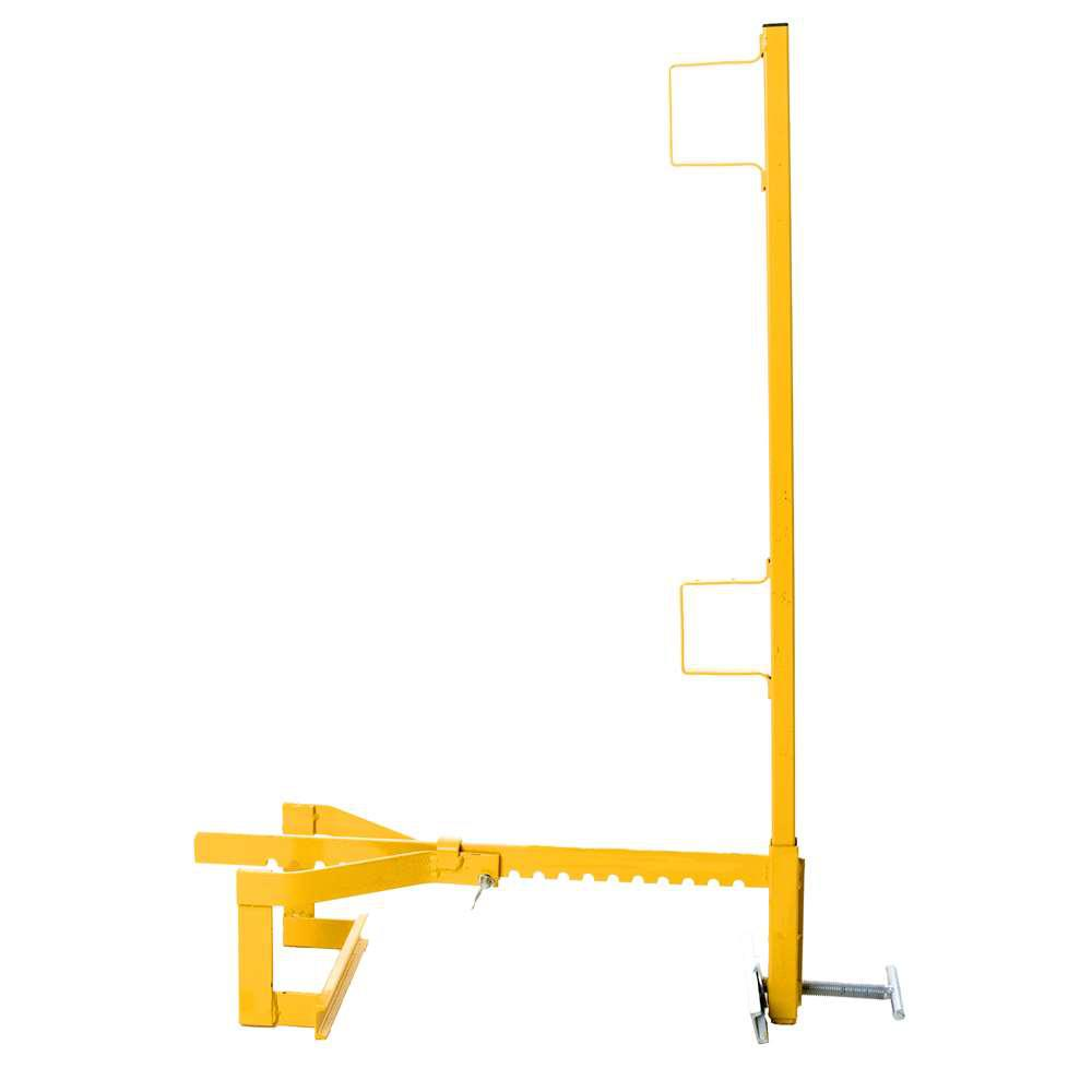Parapet Wall Guardrail Systems Bracket and Post