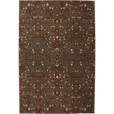 Western Prairie Saddle 3 ft. 6 in. x 5 ft. 6 in. Accent Rug