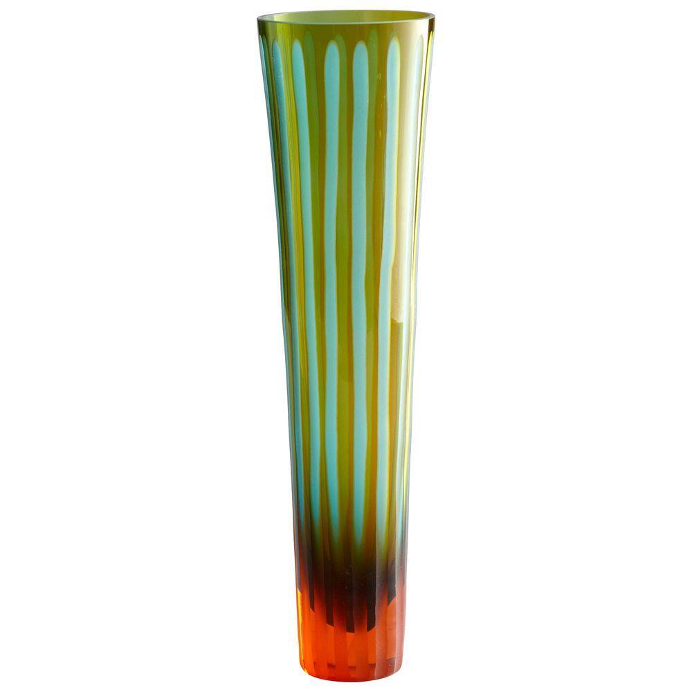 Filament Design Prospect 16 in. x 3 in. Amethyst Vase