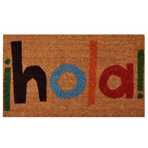 Home & More Hola Door Mat 17 inch x 29 in. by Home & More