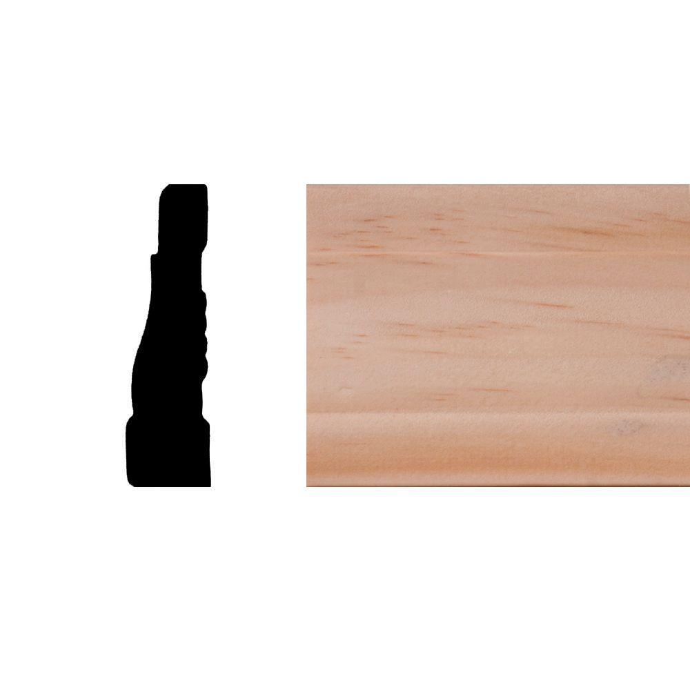 Builders Choice LWM356 11/16 in. x 2-1/4 in. x 7 ft. Pine Wood ...