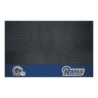 Los Angeles Rams 26 in. x 42 in. Grill Mat