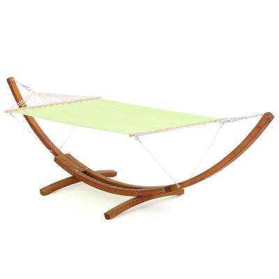 Richardson 13.68 ft. Free-Standing Hammock in Light Green