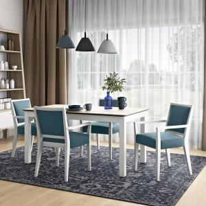 Stupendous Handy Living Wesley 5 Piece Woodlook Smart Top Dining Table Alphanode Cool Chair Designs And Ideas Alphanodeonline