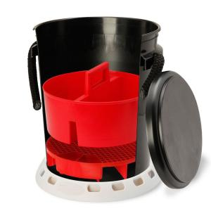 Shurhold 5 Gal. Black Bucket Kit by Shurhold