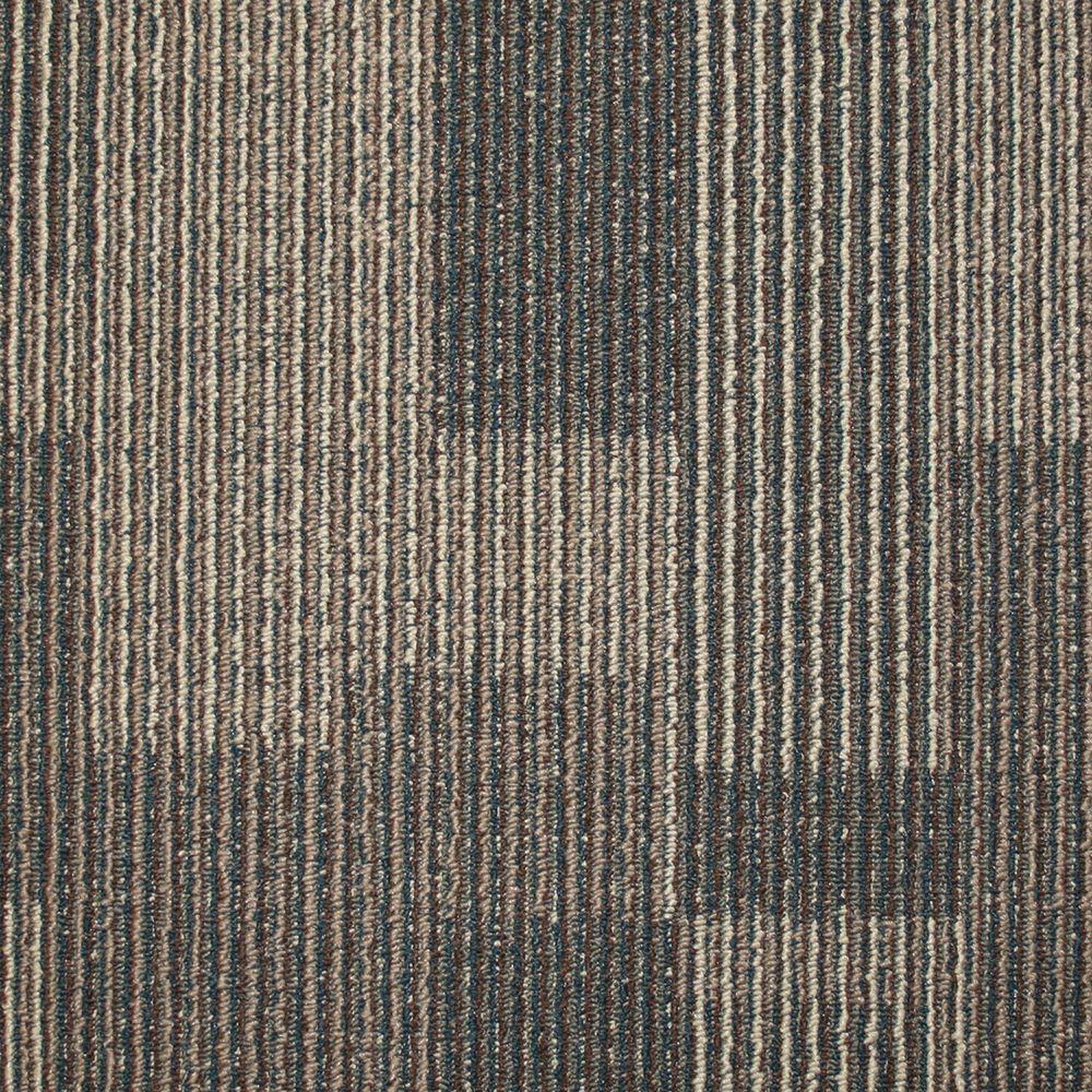Rockefeller Hazelnut Loop 19.7 in. x 19.7 in. Carpet Tile (20 Tiles/Case)