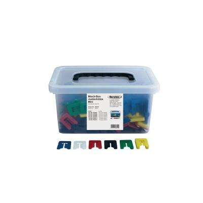 Adjustment Blocks Mini Mixed Box with Slit (450-Pieces/Box)