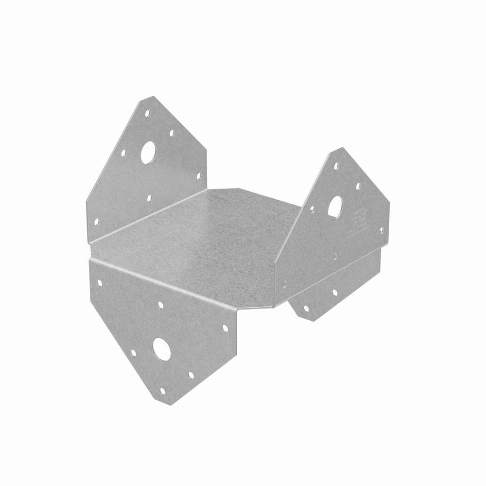 Simpson Strong-Tie BC ZMAX® Galvanized Post Cap for 6x
