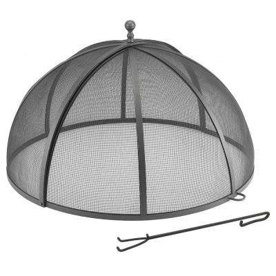 Fire Pit Screen Outdoor Heating Outdoors The Home Depot
