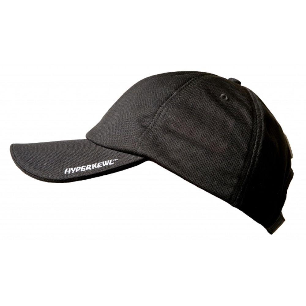 HyperKewl Black Low-Profile Evaporative Cooling Hat-6593BK - The ... 465c54f83ca
