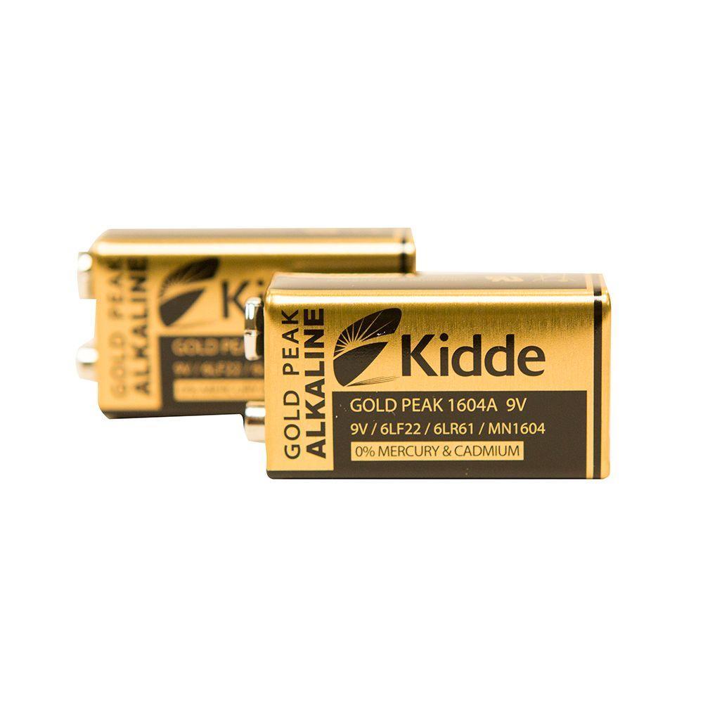 Kidde 9-Volt Dual-Sensor Replacement Power Supply (2-Pack)