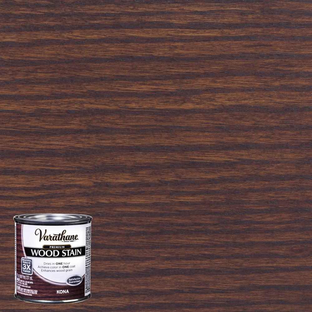 Varathane 8 oz. Kona Premium Fast Dry Interior Wood Stain
