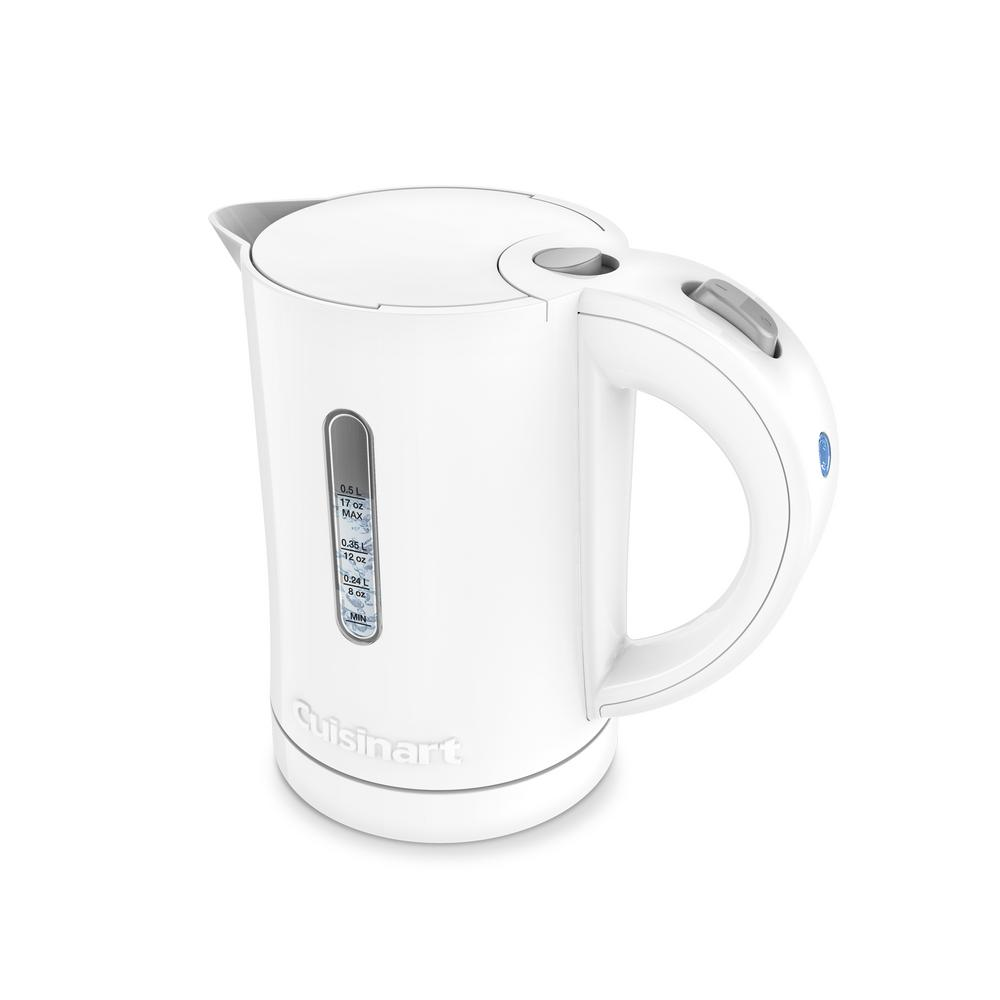 cuisinart quickettle 2-cup electric kettle-ck-5w