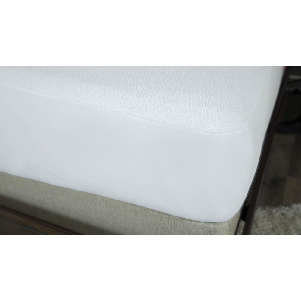 Premium Cotton Terry King Mattress Protector