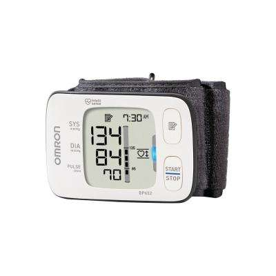 7 Series Wrist Blood Pressure Monitor in White