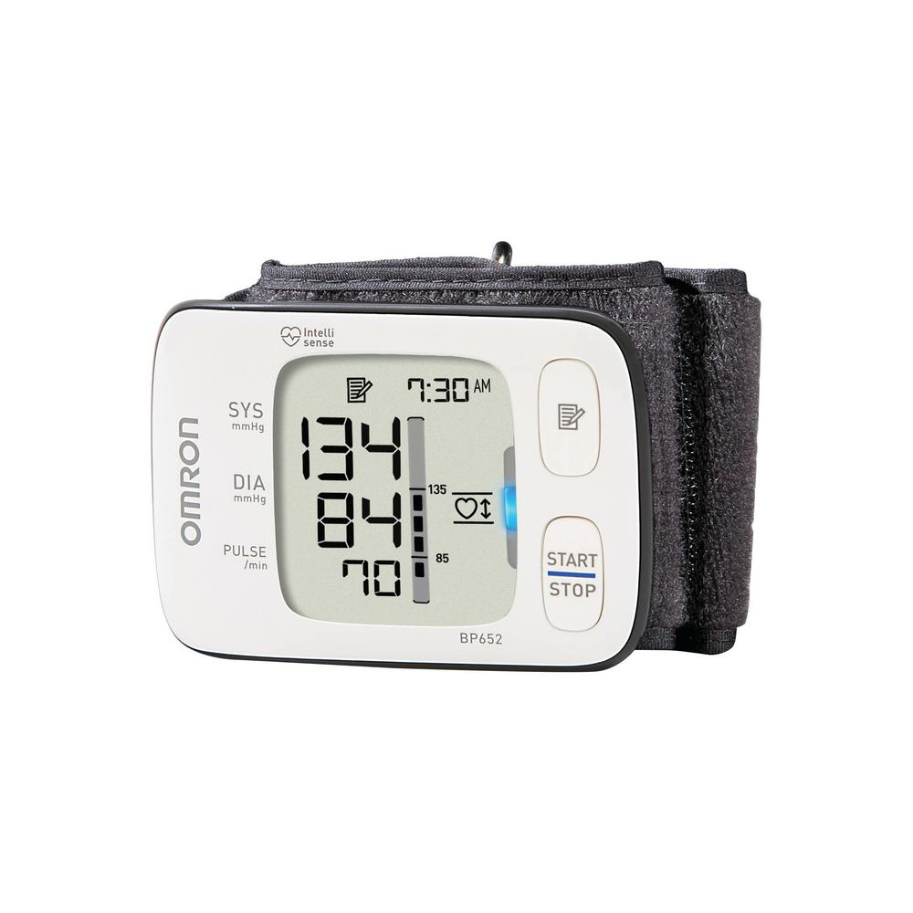 Omron 7 Series Wrist Blood Pressure Monitor in White