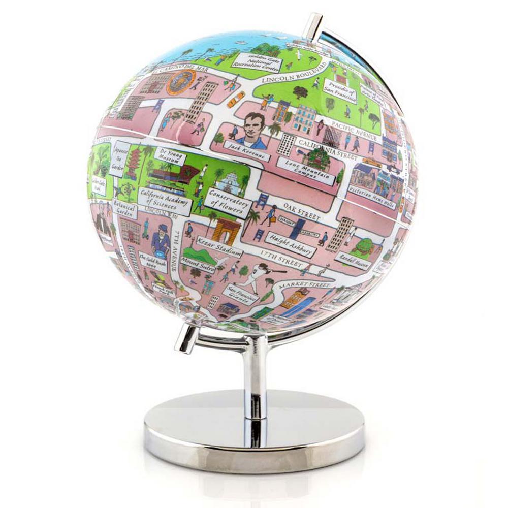 San Francisco 4 in. Globe