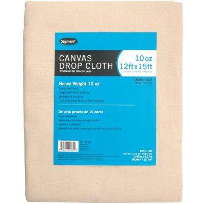 11 ft. 6 in. x 14 ft. 6 in., 10 oz. Canvas Drop Cloth