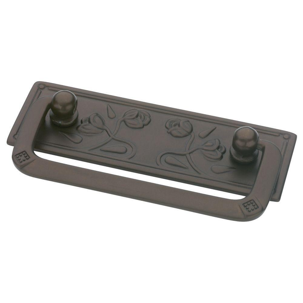 Liberty Provincial Antiques 2-1/2 in. (64mm) Rubbed Bronze Bail Pull