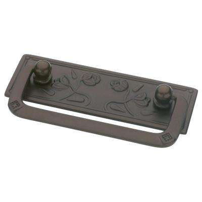 Provincial Antiques 2-1/2 in. (64mm) Rubbed Bronze Bail Pull
