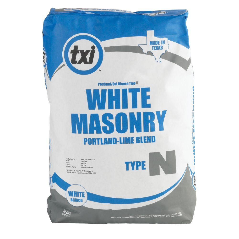 Using Portland Cement : Txi lb type n masonry portland lime blend cement