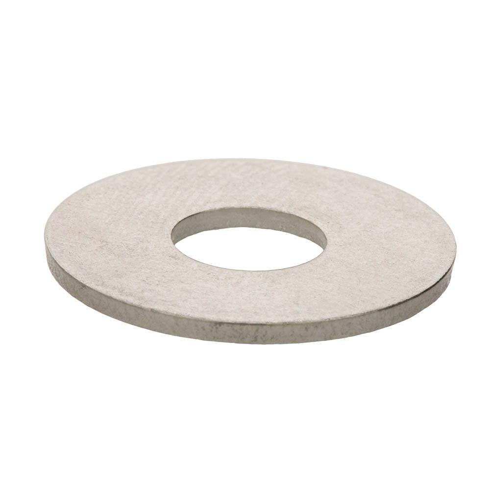 #8 Aluminum Flat Washers (5-Pieces)