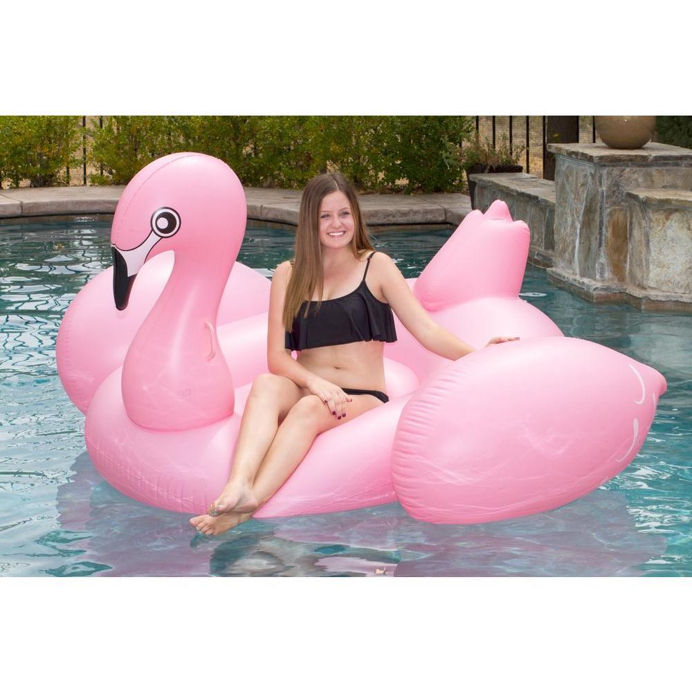 Jumbo Flamingo Pool Float