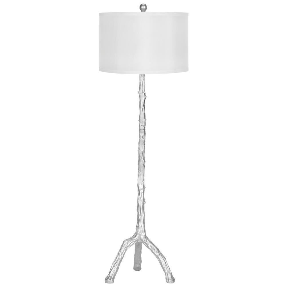 Safavieh 58 in. Silver Branch Floor Lamp