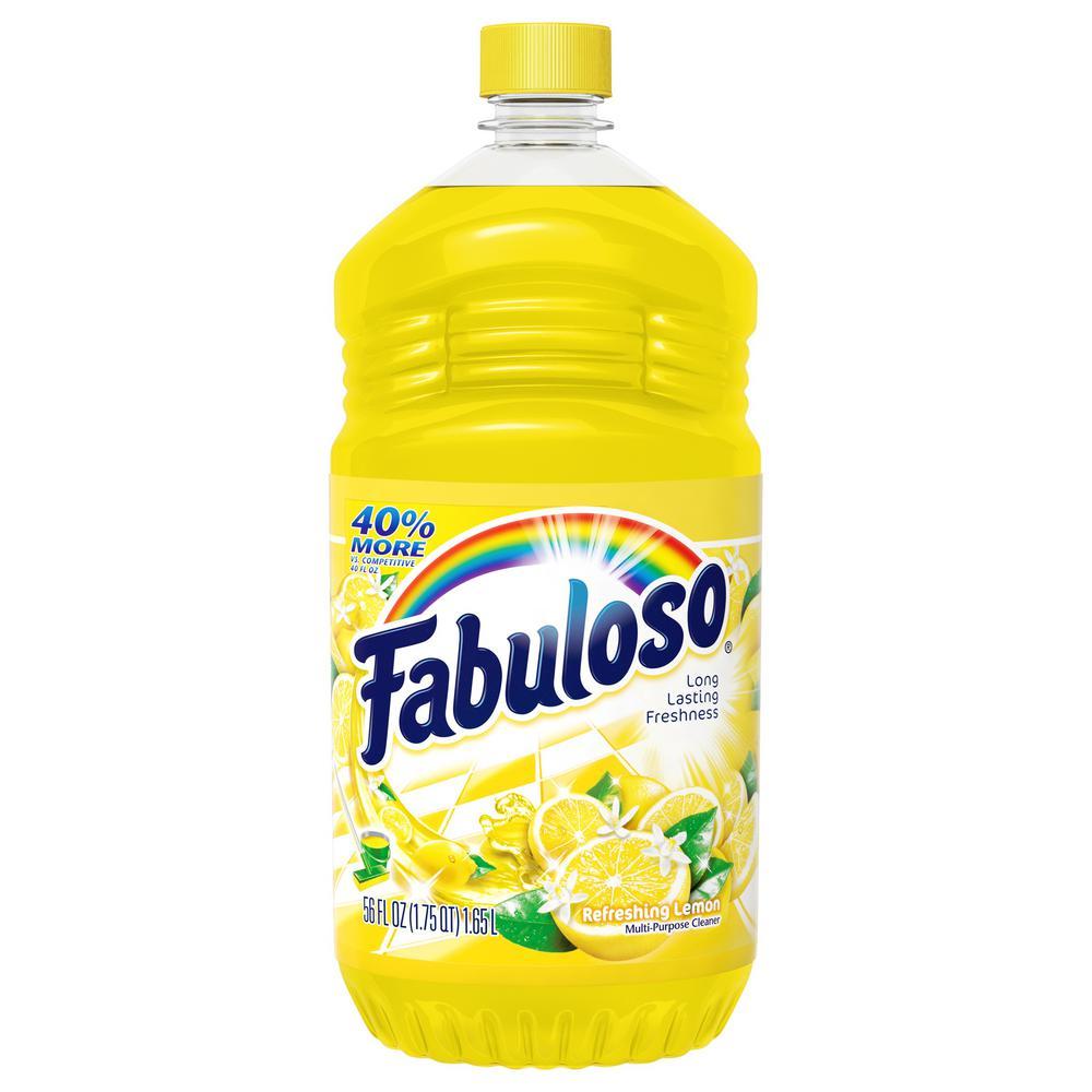 Fabuloso 56 Oz Lemon Multi Purpose Cleaner Mx06157a The