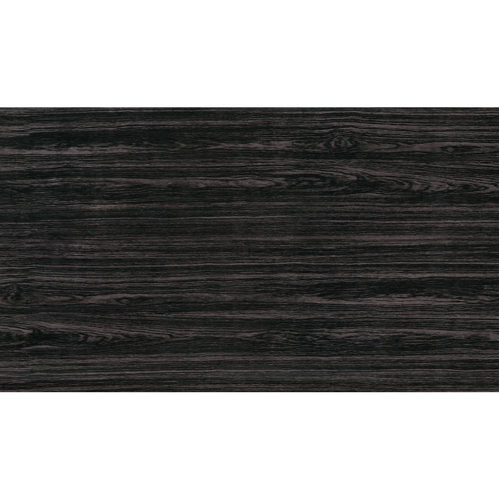 Grey Rosewood Faux Materials Adhesive Film (Set of 2)