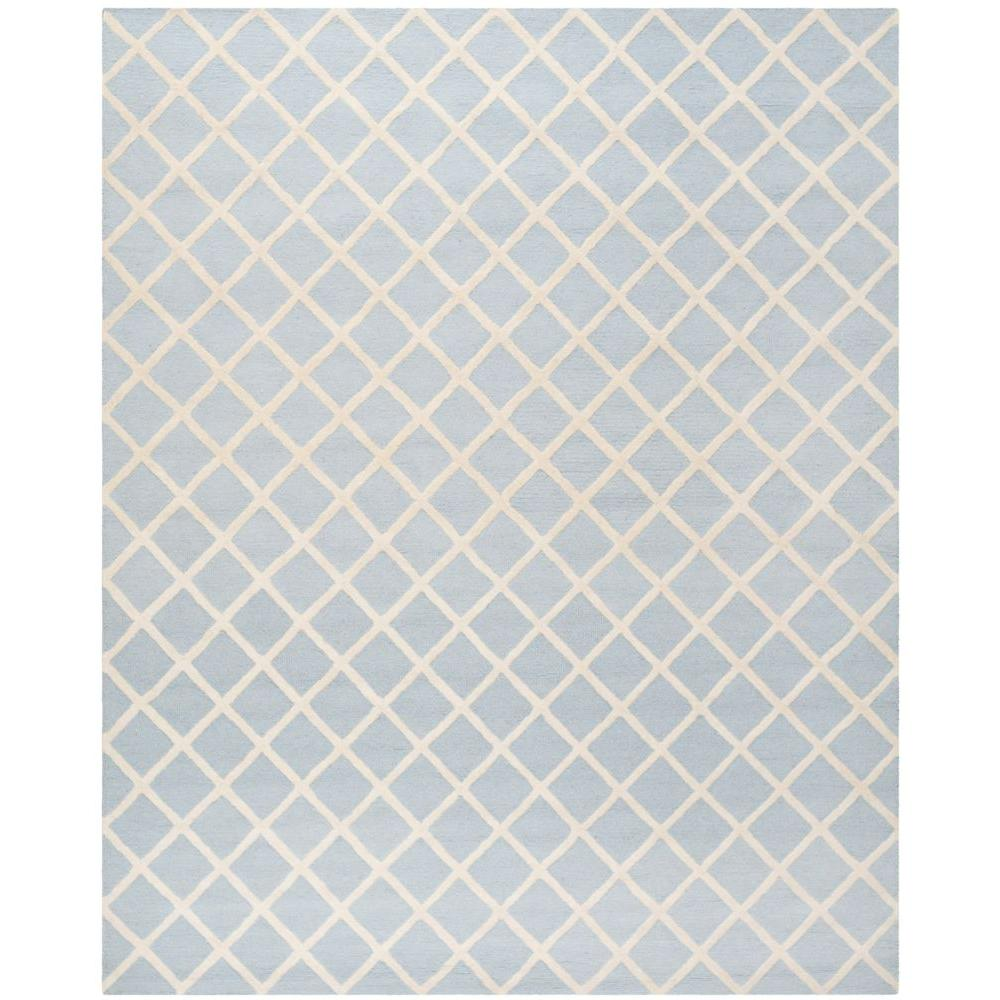Safavieh Cambridge Light Blue/Ivory 6 ft. x 9 ft. Area Rug