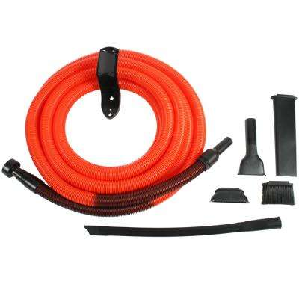 Premium Garage Attachment Kit with 30 ft. Hose for Shop Vacuums