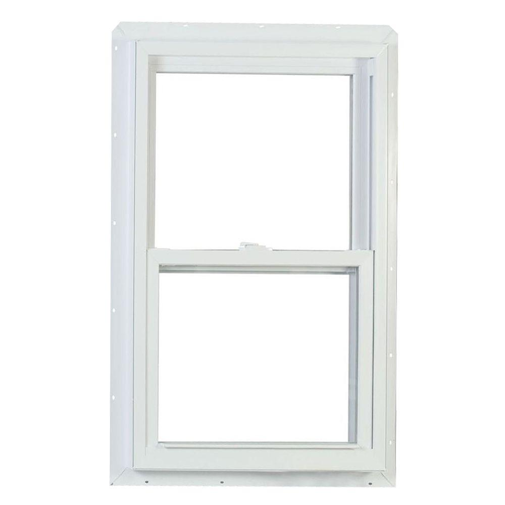 Jeld wen 30 in x 60 in v 2500 series single hung vinyl for American craftsman windows