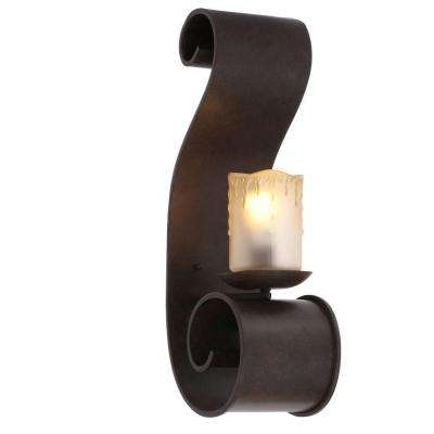 Adelaide Collection Outdoor Bronze Large Sconce