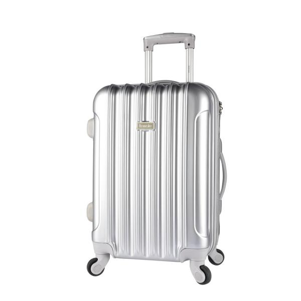 Kensie 20 in. Expandable Hard Side Rolling Carry-On w/ Spinners and