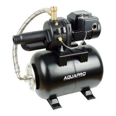 1/2 HP Convertible Jet Pump with 6 Gal. Tank