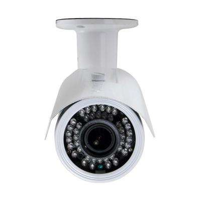 Indoor or Outdoor 720P HD-CVI Wired Bullet Standard Surveillance Camera with 2.8 mm to 12 mm Lens and 42 IR LED