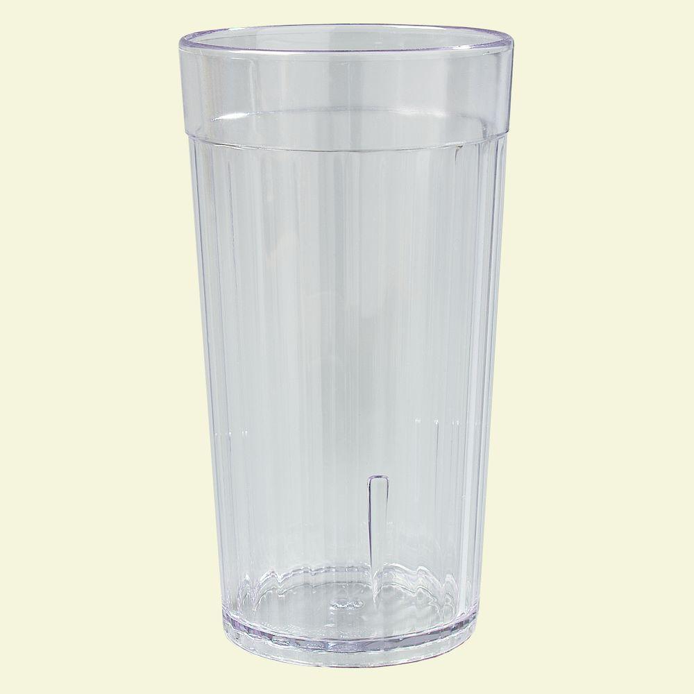 Carlisle 12 oz. SAN Plastic Tumbler in Clear (Case of 72)