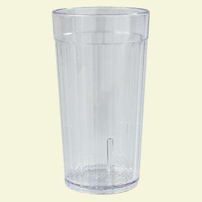Carlisle 12 oz. SAN Plastic Tumbler in Clear (Case of 72) by Carlisle