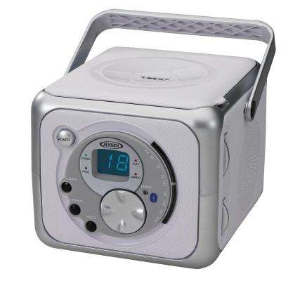 Portable Bluetooth Music System with CD