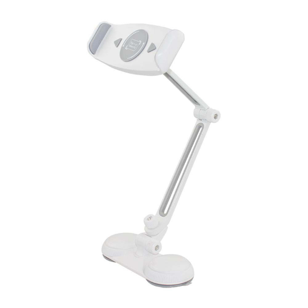 proHT Aluminum Adjustable Phone/Tablet Holder for 7-12 in. Devices with Suction Mount