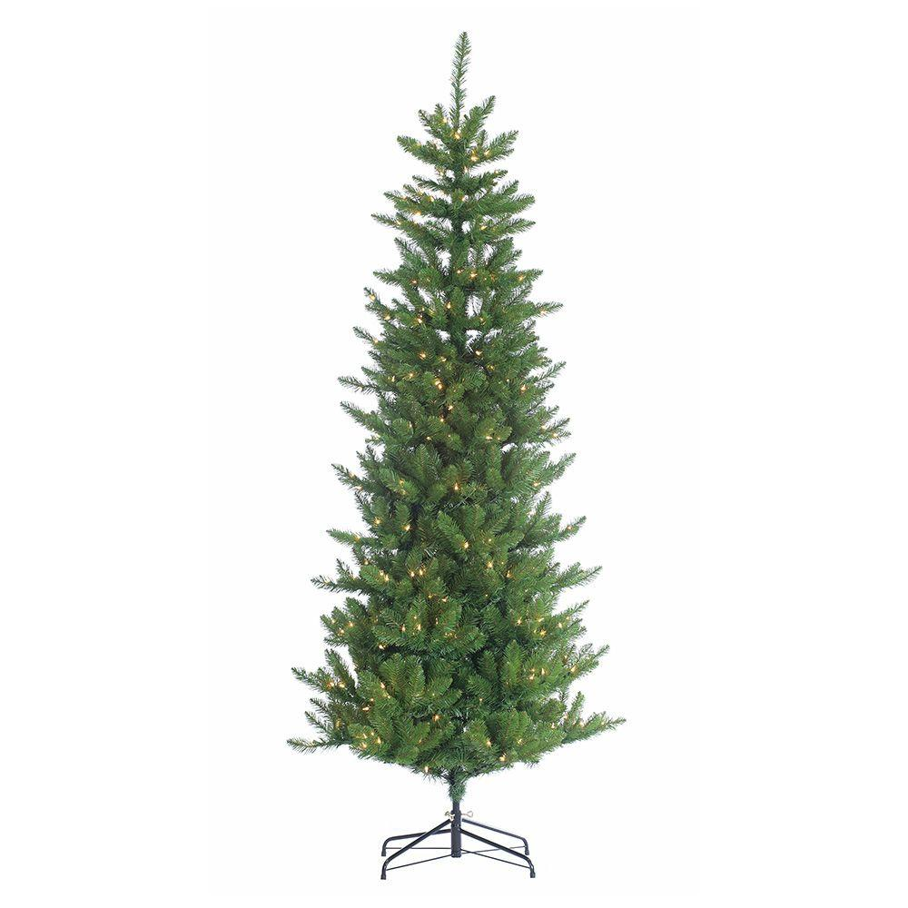 Home Depot Christmas Trees Artificial Pre Lit