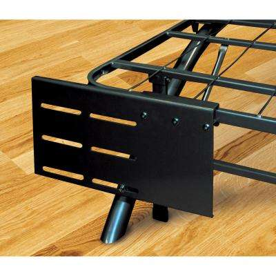 Dome Arc Black Headboard and Footboard Brackets