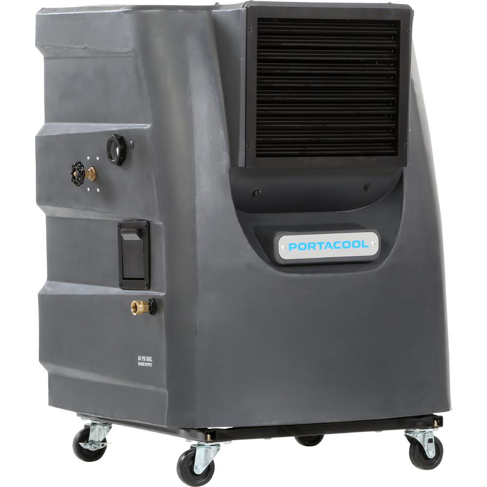 PORTACOOL Cyclone 130 3000 CFM 2-Speed Portable Evaporative Cooler for 700 sq. ft.