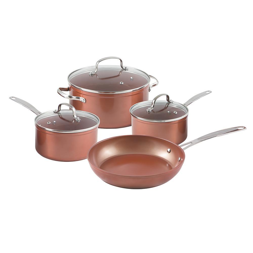 NuWave Duralon 7-Piece Forged Aluminum Cook Set 31420