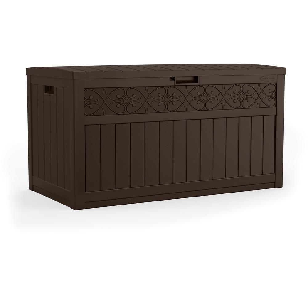 Trellis 101 Gal. Resin Deck Box