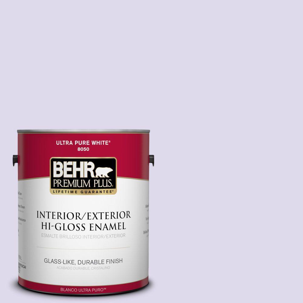 1-gal. #640A-2 Misty Violet Hi-Gloss Enamel Interior/Exterior Paint