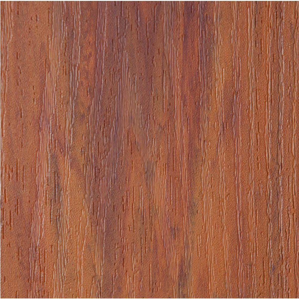 TimberTech 1 in. x 5.43 in. x 2 ft. PVC Decking Board Sample in Harvest Bronze